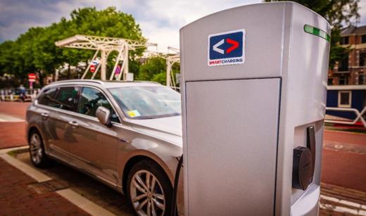Smart charging van elektrische voertuigen